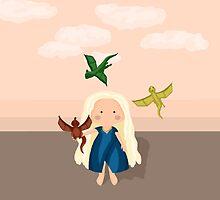 Chibi Khaleesi by Purrdition