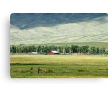 American West Canvas Print