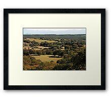 Santa Rosa Plateau Framed Print