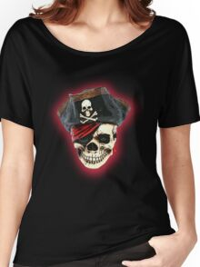 pirate skull Women's Relaxed Fit T-Shirt