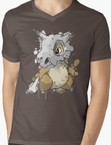 Cubone Mens V-Neck T-Shirt