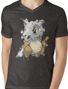 Cubone Mens V-Neck T-Shirt