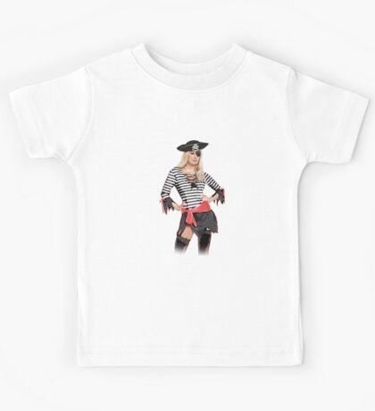 pirate skull Kids Tee