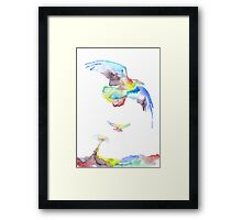 Born of Colors Framed Print