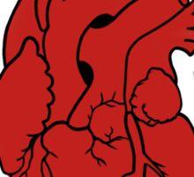 pumps through your veins Sticker