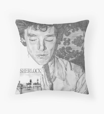 Sherlock's Rest Throw Pillow