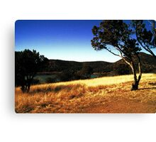 Parker Canyon Lake Canvas Print