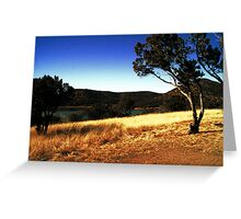 Parker Canyon Lake Greeting Card