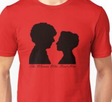 The Woman Who Beat Him Unisex T-Shirt