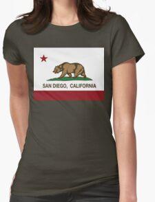 San Diego California Republic Flag T-Shirt