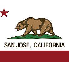 San Jose California Republic Flag by NorCal