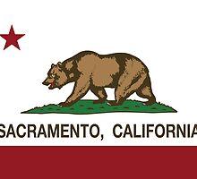 Sacramento California Republic Flag by NorCal