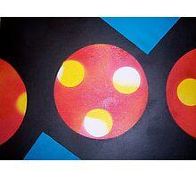 circle. rectangle. triangle. fingerprint. Photographic Print