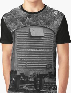 Abandoned Train Carriage  Graphic T-Shirt