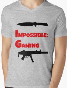 Impossible Gaming Mens V-Neck T-Shirt