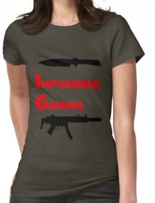 Impossible Gaming Womens Fitted T-Shirt