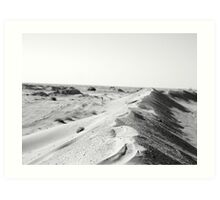 Cold dune Art Print