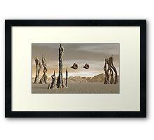 Strange Land Framed Print
