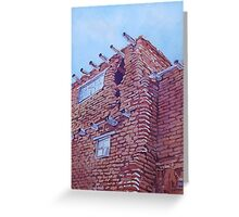 Gap in the Wall Greeting Card