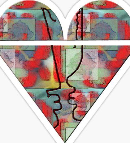 Bikini heart Sticker