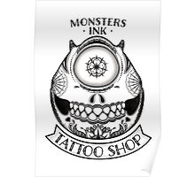 Monsters INK Mike Poster