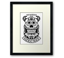 Monsters INK Sully Framed Print