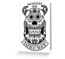Monsters INK Sully Greeting Card