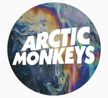Arctic Monkeys Logo Shirt by nicolecorder