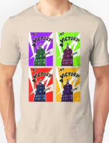 To Victory Dr. Who  T-Shirt