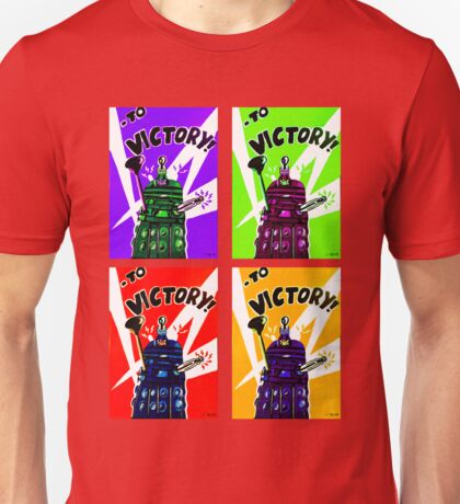 To Victory Dr. Who  Unisex T-Shirt