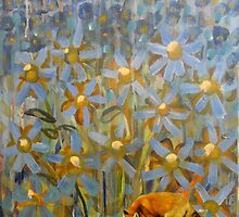 Fox Flowers by JulianaLachance