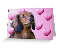 Puppy Love 2 Greeting Card