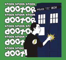 Knock Knock Knock Doctor One Piece - Short Sleeve