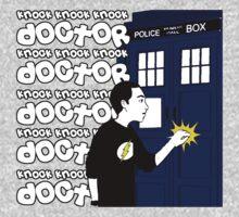 Knock Knock Knock Doctor Baby Tee
