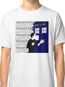 Knock Knock Knock Doctor Classic T-Shirt