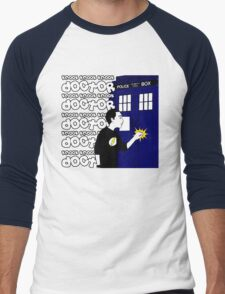 Knock Knock Knock Doctor Men's Baseball ¾ T-Shirt