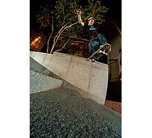 Brian Delaney // Backside Tailslide // Boston '13 Photographic Print