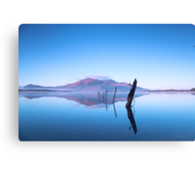 Reflections on Lake Canvas Print