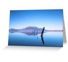 Reflections on Lake Greeting Card