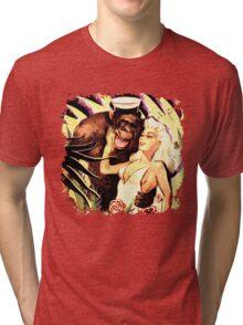 Sailor Monkey Tri-blend T-Shirt