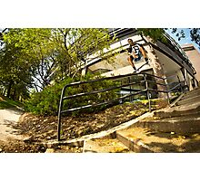 Brian Reid // Gap Frontside Lipslide // Cambridge, Ma '13 Photographic Print