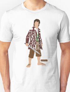 Martin Freeman in The Hobbit Typography Design Unisex T-Shirt