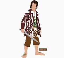 Martin Freeman in The Hobbit Typography Design T-Shirt
