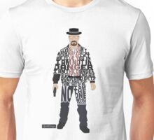 Heisenberg From Breaking Bad Typography Quote Design Unisex T-Shirt