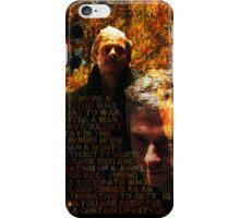 A certain lifestyle - BBC Sherlock iPhone Case/Skin