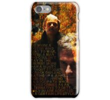 A certain lifestyle - BBC Sherlock iPhone Case/Skin