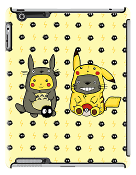 Totoro and Pikachu Onesies by CartoonGirl