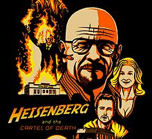 Heisenberg Breaking Bad by nickeybird