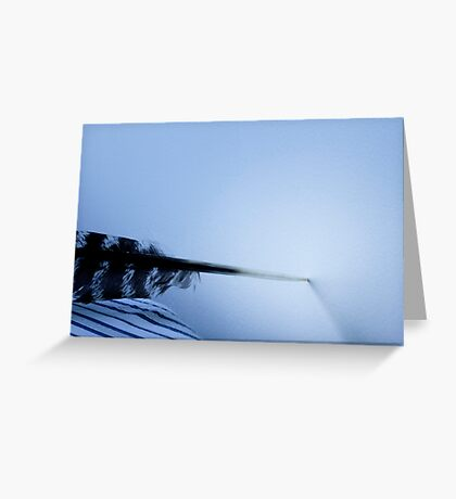 Quill undecided Greeting Card