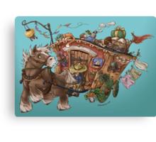 Caravan Adventure Canvas Print